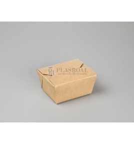 Caja kraft take away 113x90x63