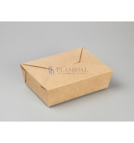 Caja kraft take away 197x140x65