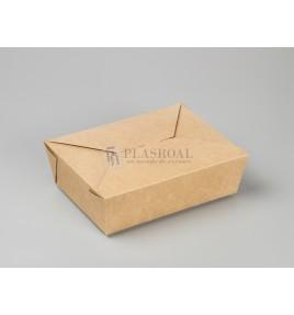Caja kraft take away 197x140x65