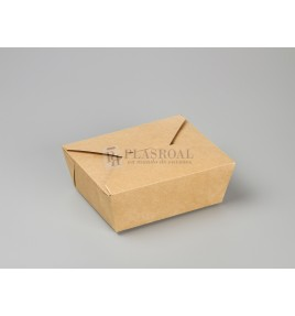 Caja kraft take away 152x120x63