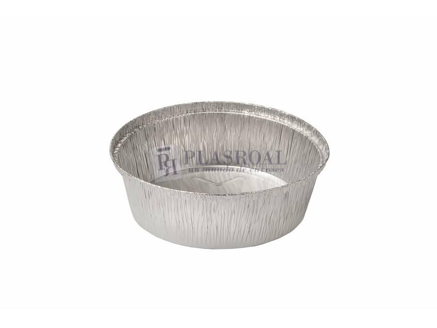 Envase aluminio redondo para pollo 1450cc