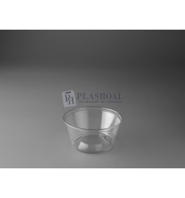 Tarrina plástico pet transparente ts5 5oz. 150 cc.