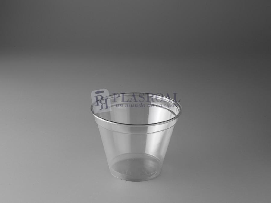 Tarrina plástico pet transparente  tp9r 9oz. 270 cc.