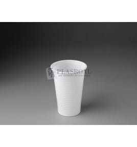 Vaso plástico ps blanco 150 cc.