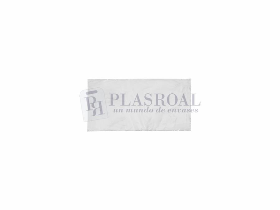 Bolsa de plástico transparente polietileno 10 x 20