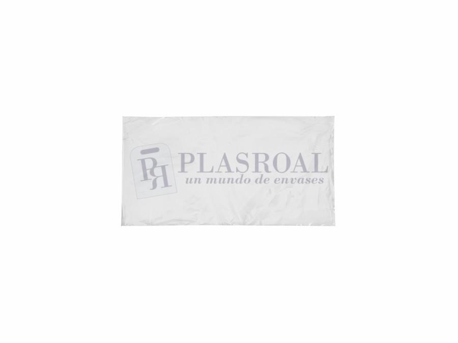 Bolsa de plástico transparente polietileno 13 x 25
