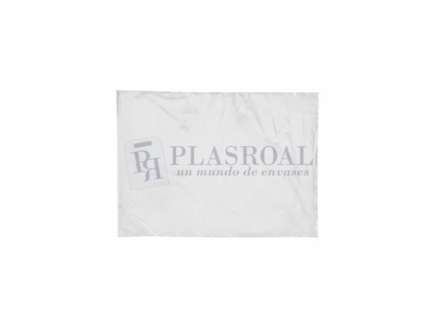 Bolsa de plástico transparente polietileno 18 x 25