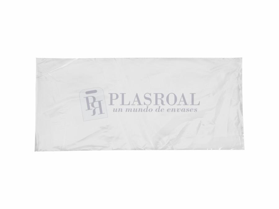 Bolsa de plástico transparente polietileno 18 x 40