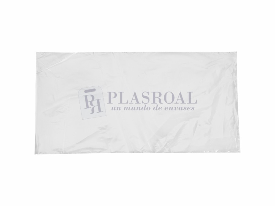 Bolsa de plástico transparente polietileno 20 x 40