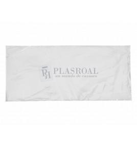Bolsa de plástico transparente polietileno 22 x 50