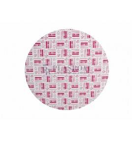 Tapa de cartón redonda para pollo FED-1450