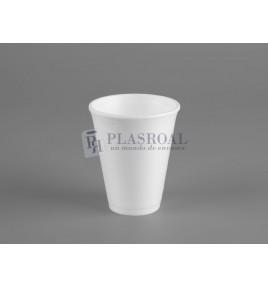 Vaso de porex blanco 240cc 8 Oz. 8LX8