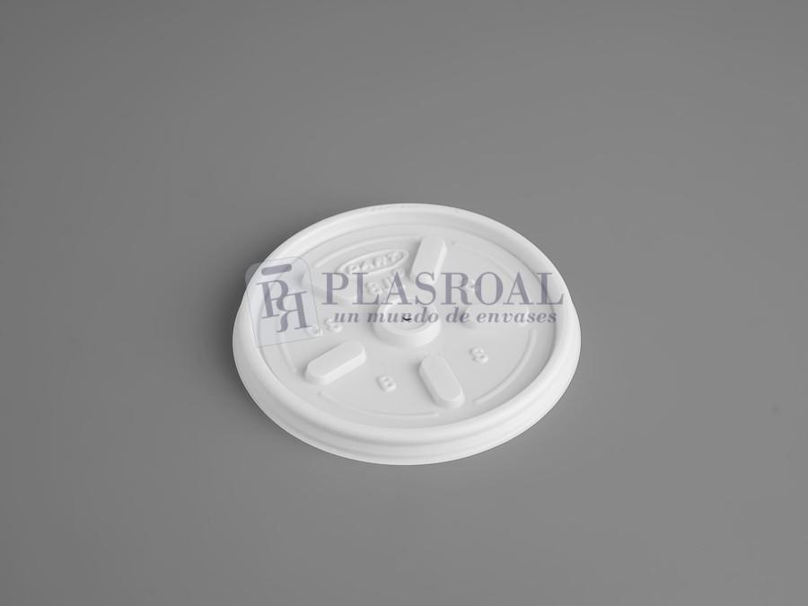 Tapa de plástico C8 con respiradero 8jl