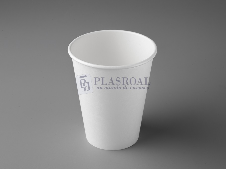 Vaso cartón de pared gruesa blanco 8 oz. SoloCup