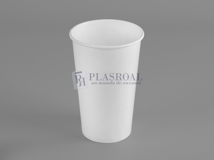 Vaso cartón de pared gruesa blanco 16 oz. SoloCup