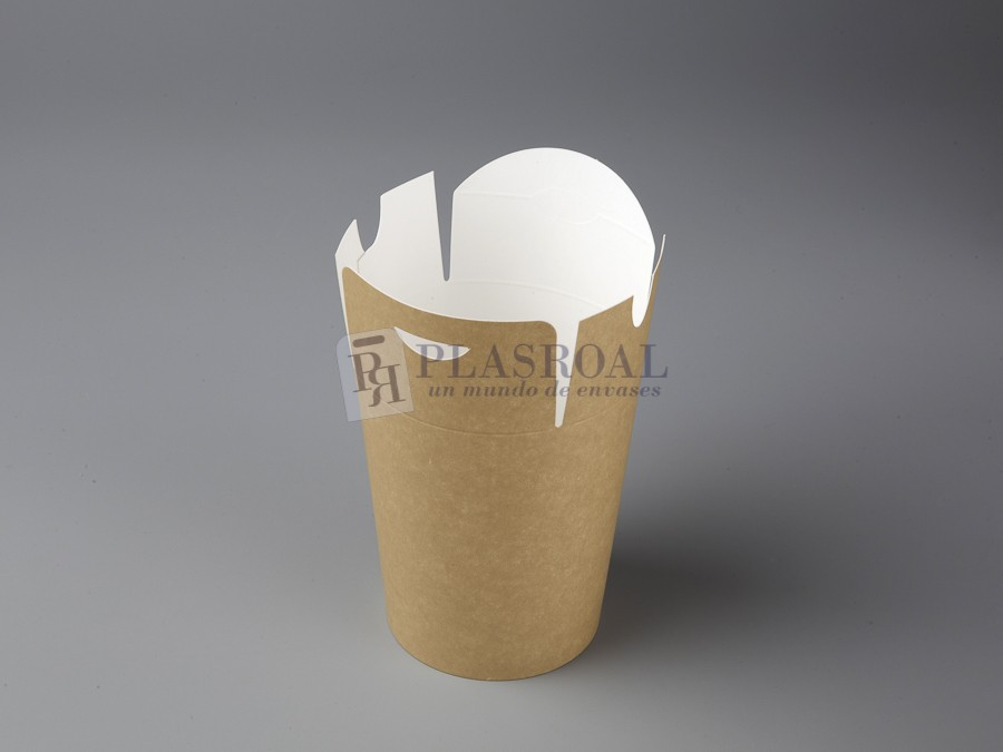 Envase cartón multifood eco-kraft 500 cc. 07