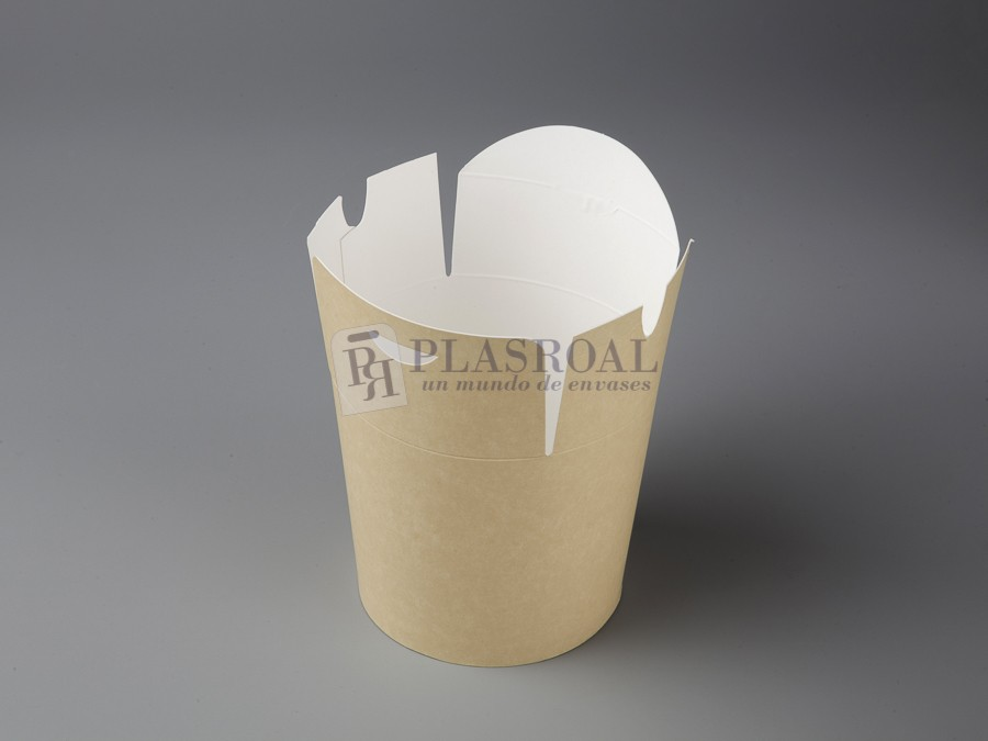 Envase cartón multifood eco-kraft 750 cc. 07