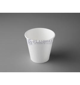 Vaso cartón de pared gruesa blanco 6 oz. SoloCup