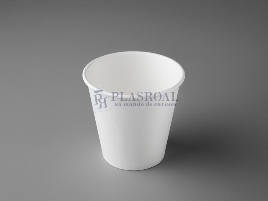 Vaso cartón de pared gruesa blanco 6 oz. SoloCup