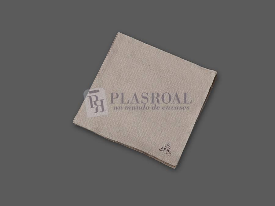 Servilleta ecológica 1 capa gofrada 33x33 cm