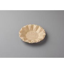 Plato cartón kraft ecológico bowl 16 cm