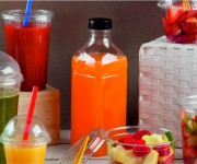 Botellas Pet gazpachos y zumos
